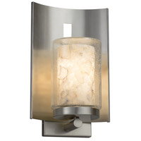 Alabaster Rocks 1 Light 13 inch Outdoor Wall Sconce