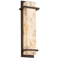 Justice Design ALR-7614W-NCKL Alabaster Rocks LED 6 inch Brushed Nickel ADA Wall Sconce Wall Light