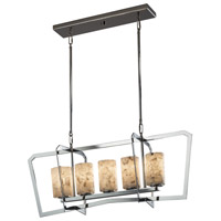 Alabaster Rocks 5 Light 14 inch Chandelier Ceiling Light