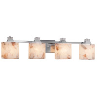 Metal Alabaster Rocks Bathroom Vanity Lights
