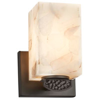 Justice Design ALR-8491-15-CROM-LED1-700 Alabaster Rocks Malleo LED 6 inch Polished Chrome Wall Sconce Wall Light