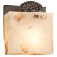 Justice Design ALR-8497-55-CROM-LED1-700 Alabaster Rocks Malleo LED 6 inch Polished Chrome ADA Wall Sconce Wall Light
