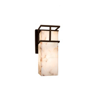 Alabaster Rocks LED 5 inch Dark Bronze Wall Sconce Wall Light
