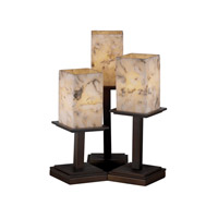 Justice Design Alabaster Rocks Montana 3-Light Table Lamp in Dark Bronze ALR-8697-15-DBRZ