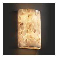 Justice Design Alabaster Rocks Ada Small Cylinder Wall Sconce ALR-8857