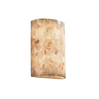 Justice Design Alabaster Rocks Ada Large Cylinder Wall Sconce ALR-8858 photo thumbnail