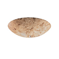 Justice Design ALR-9672-35-NCKL Alabaster Rocks 6 Light 21 inch Brushed Nickel Semi-Flush Bowl Ceiling Light in Round Bowl photo thumbnail