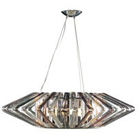 Justice Design BOH-6034-CLSM-CROM Bohemia Columba LED 39 inch Polished Chrome Chandelier Ceiling Light