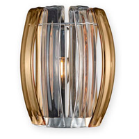 Justice Design BOH-6041-CLAM-CROM Bohemia Aplique LED 7 inch Polished Chrome ADA Wall Sconce Wall Light