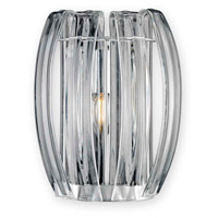 Justice Design BOH-6041-CLER-CROM Bohemia Aplique LED 7 inch Polished Chrome ADA Wall Sconce Wall Light photo thumbnail
