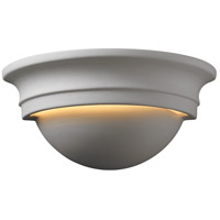 Justice Design CER-1015-BIS Ambiance 1 Light 11 inch Bisque Wall Sconce Wall Light photo thumbnail