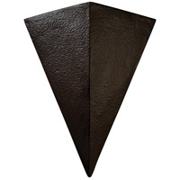 Justice Design CER-1140-TERA Ambiance Triangle 2 Light 20 inch Terra Cotta Wall Sconce Wall Light in Incandescent, Really Big thumb