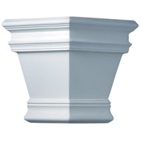 Justice Design Group Ambiance Americana Outdoor Wall Sconce in Bisque CER-1411W-BIS