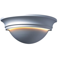 Justice Design Group Ambiance Large Cyma Wall Sconce in Bisque CER-1515-BIS