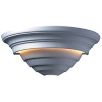 Justice Design Group Ambiance Supreme Outdoor Wall Sconce in Bisque CER-1555W-BIS photo thumbnail