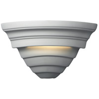 Justice Design CER-1865-BIS Ambiance 1 Light 12 inch Bisque Wall Sconce Wall Light