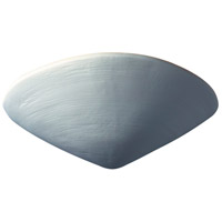 Justice Design Group Ambiance Clam Shell Wall Sconce in Bisque CER-3710-BIS