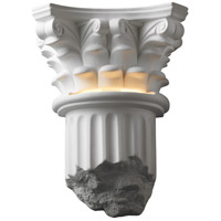 Justice Design Group Ambiance Corinthian Column Wall Sconce in Bisque CER-4700-BIS
