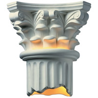 Justice Design Group Ambiance Corinthian Column Wall Sconce in Bisque CER-4705-BIS