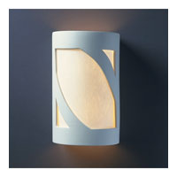 Justice Design Group Ambiance Small ADA Prairie Window Wall Sconce in Bisque CER-5345-BIS