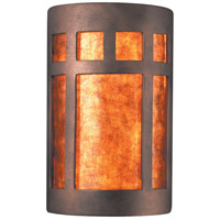 Ambiance 2 Light 8 inch Antique Copper ADA Wall Sconce Wall Light