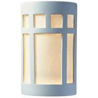 Justice Design CER-5355-BIS Ambiance 2 Light 8 inch Bisque ADA Wall Sconce Wall Light photo thumbnail