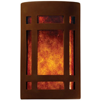 Ambiance 2 Light 8 inch Real Rust ADA Wall Sconce Wall Light