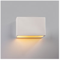 Justice Design CER-5640-MDMT-LED1-1000 Ambiance LED 10 inch Polished Chrome ADA Wall Sconce Wall Light photo thumbnail