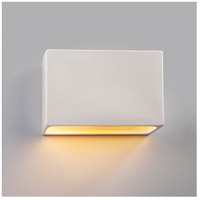 Justice Design CER-5650-HMCP-LED2-2000 Ambiance LED 12 inch Brushed Nickel ADA Wall Sconce Wall Light photo thumbnail