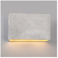 Justice Design CER-5658-PATA-LED2-2000 Ambiance LED 17 inch Polished Chrome ADA Wall Sconce Wall Light photo thumbnail