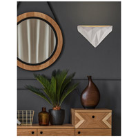 Justice Design CER-5660-NTGN-LED1-1000 Ambiance LED 12 inch Matte Black Wall Sconce Wall Light photo thumbnail