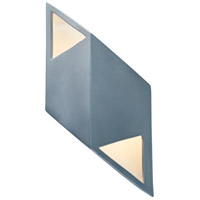 Justice Design CER-5835-MDMT Ambiance LED 6 inch Midnight Sky with Matte White ADA Wall Sconce Wall Light in Midnight Sky and Matte White, Rhomboid alternative photo thumbnail
