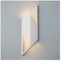 Justice Design CER-5849-ANTG Ambiance LED 6 inch Matte Black ADA Wall Sconce Wall Light photo thumbnail