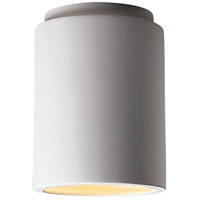 Justice Design CER-6100-BIS Radiance 1 Light 7 inch Bisque Flush-Mount Ceiling Light