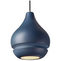 Radiance 1 Light 8 inch Dark Bronze Pendant Ceiling Light