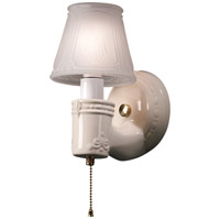 Justice Design CER-7130-CKS-BRSS American Classics Vintage Round 1 Light 5 inch Polished Brass with Sienna Brown Crackle Wall Sconce Wall Light thumb