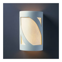 Justice Design Group Ambiance Small Prairie Window Wall Sconce in Bisque CER-7345-BIS