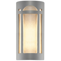 Justice Design CER-7397W-BIS Ambiance 2 Light 21 inch Bisque Outdoor Wall Sconce