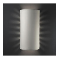 Justice Design Group Sun Dagger 2 Light Wall Sconce in Bisque with No Cutout CER-9020-BIS-NCUT