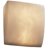 Justice Design Clouds Ada Square Wall Sconce CLD-5120