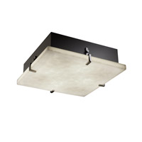 Justice Design CLD-5557-DBRZ-LED3-3000 Clouds LED 17 inch Dark Bronze Flush Mount Ceiling Light in 3000 Lm LED
