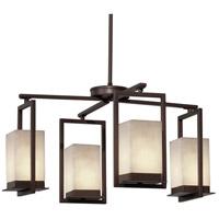 Justice Design CLD-7510W-DBRZ Clouds LED 25 inch Dark Bronze Chandelier Ceiling Light
