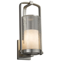 Justice Design CLD-7584W-10-NCKL-LED1-700 Clouds LED 17 inch Outdoor Wall Sconce in 700 Lm LED Brushed Nickel