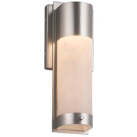 Justice Design Brushed Nickel Wall Sconces