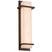 Justice Design CLD-7614W-DBRZ Clouds LED 6 inch Dark Bronze ADA Wall Sconce Wall Light