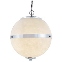 Justice Design CLD-8040-CROM Clouds Imperial LED 17 inch Polished Chrome Chandelier Ceiling Light
