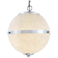 Justice Design CLD-8041-MBLK Clouds Imperial LED 25 inch Matte Black Chandelier Ceiling Light