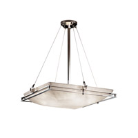 Metropolis 6 Light 28 inch Polished Chrome Pendant Ceiling Light in Fluorescent