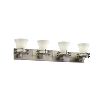 Justice Design Clouds 4 Light Bath Light in Brushed Nickel CLD-8274-20-NCKL