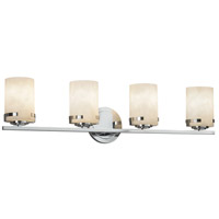 Justice Design CLD-8454-10-CROM-LED4-2800 Clouds LED 32 inch Vanity Light Wall Light in 2800 Lm LED Polished Chrome